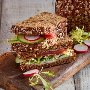 sandwich low carb tonno e ravanelli